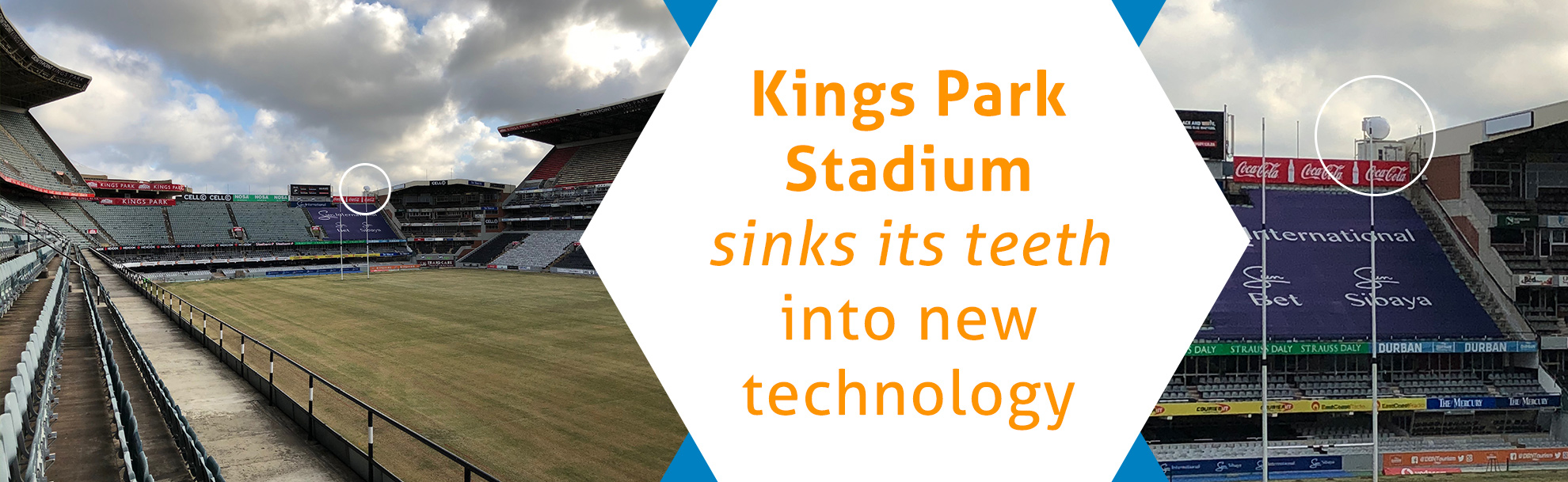 Kings Park Stadium sinks its teeth into new technology