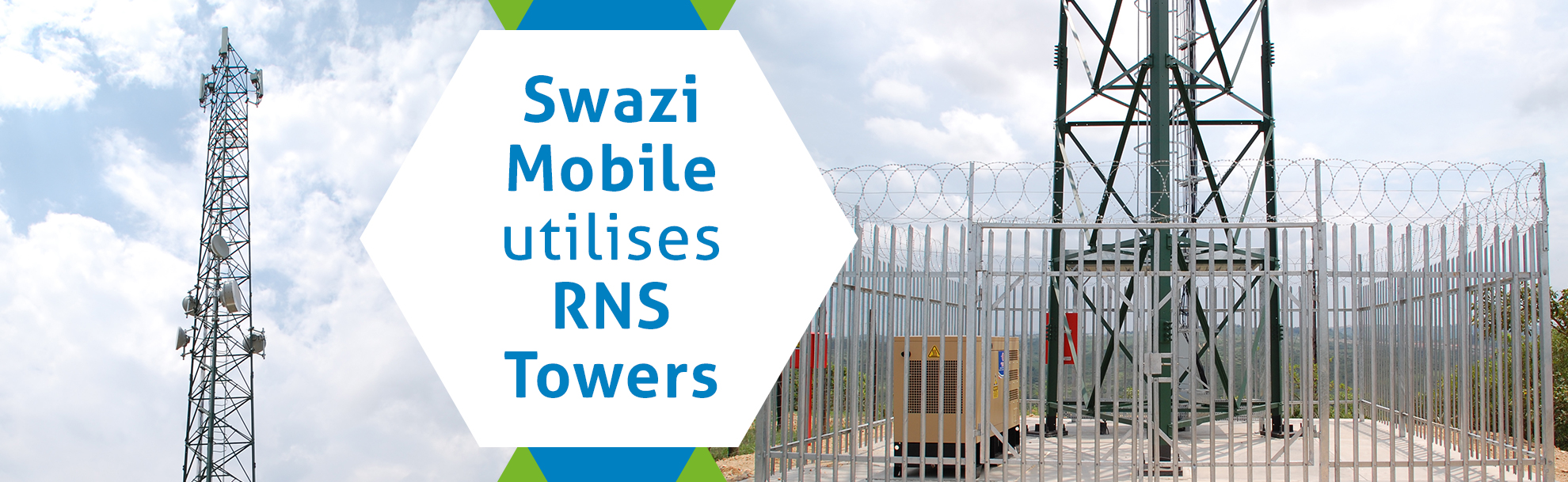 Swazi Mobile utilises RNS Towers
